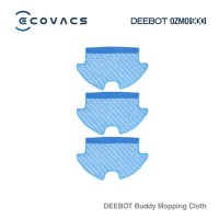 Ecovacs Aksesoris DEEBOT Buddy OZMO 900 Mopping Cloth (3 pcs)