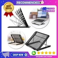 Stand Dudukan Peninggi Laptop Ipad Macbook Tablet Portable Adjustable