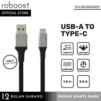 roboost Kabel Data Universal Super Quick Fast Charging USB Type C 3.0