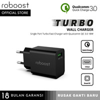 roboost 1 Port USB Turbo Wall Charger Fast Charging 18W Qualcomm
