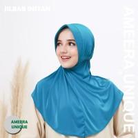 Jilbab Serut Adiba Instan - JKA-Biru Elektr