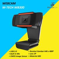 Webcam PC M-Tech WB300 480P / Webcam Laptop / Webcam Notebook