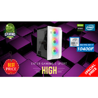 Paket PC Enter Gaming E-Sports HIGH INTEL I5-10400F X Nvidia Graphic