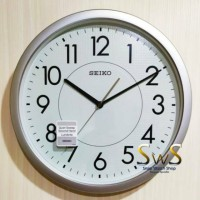 Jam Dinding Seiko QXA629 S Jarum Sweep Glow in The Dark Diameter 36 cm