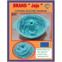 Loyang / Cetakan Kue Design Bunga Mawar , BERBAHAN SILICONE