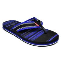 Carvil Sandal Pria GILDAN M BLACK/R.BLUE