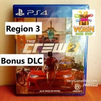 PS4 The Crew 2 (R3 / Asia)