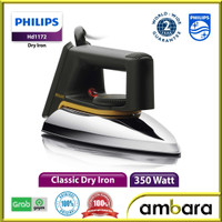 Setrika Philips HD1172 ,ceramic coating , 2 X durable philip HD 1172 - HD-1172