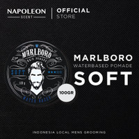 Pomade Waterbased Soft Strenght - 100 gram (by Napoleon)