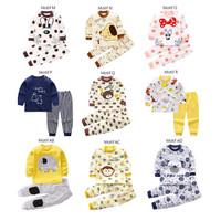 Setelan Bayi / Setelan Panjang Bayi / Baju Bayi / Kaos Bayi Lucu - MOTIF M
