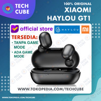 Xiaomi Haylou GT1 TWS Wireless Earphone Headset Earbud Bluetooth Touch - Hitam
