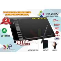 Xp pen Star 03 V2 Drawing Pen Tablet 8192 pressure level Garansi 2 thn