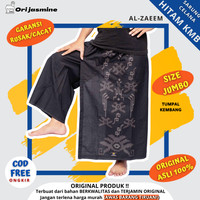 Sarung Celana hitam motif kembang celana sarung batik pria kembang