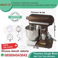 Planetary Mixer Roti Kitchen 7 Liter | Stand Mixer Imettos 7500 brown