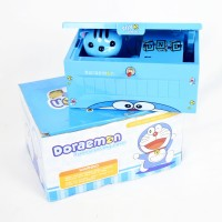 SALE AS IS Mainan Anak Doraemon Funny Saving Case Celengan Box