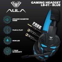 Headset Gaming Aula Prime LB-01 Blue