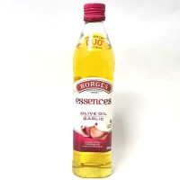 MINYAK ZAITUN Borges ESSENCES GARLIC Olive Oil PENGHANCUR KOLESTROL
