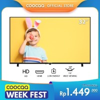 [NEW PRODUCT] Coocaa LED TV 32 inch - DigitalTV DVB T/T2 (Model 32D5T)