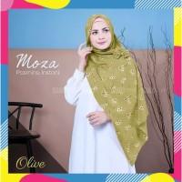 Jilbab/Hijab/Kerudung Pasmina Instan Motif Bunga Model Nisa/Moza