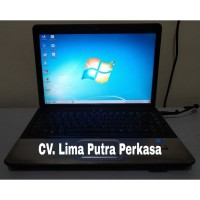 Laptop Compaq Presario CQ41 Core i3 Ram 6Gb Hdd 500Gb (Second/Bekas)