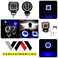 Lampu Tembak Sorot LED CWL 2 Mata Lensa 4D CREE 20W 12-24V HighQuality