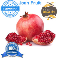 GROSIR TERMURAH Buah Delima Merah import Premium Red Pomegranate