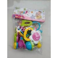 Mainan Bayi Kincring, Rattle - Set 8Pcs