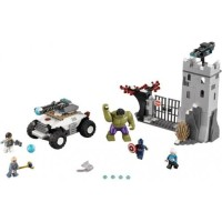 Toys LEGO Super Heroes Avengers The Hydra Fortress Smash 76041