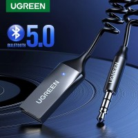 UGREEN Wireless Bluetooth 5.0 Receiver 3.5mm AUX Mobil Kit Adapter