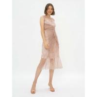 ATELIER MODE Lace Dress Wrap Side Chantilly Lace Asia Dress Wanita