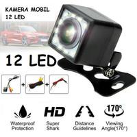 Kamera Mundur - Parkir Mobil 12 Mata LED