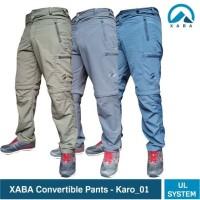 XABA convertible pants - celana sambung pdl ultralight