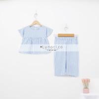 Lunaci Sky Blue Naura Pyjamas Kids