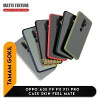 Case Oppo A3S F9 F11 F11 PRO Skin Feel Matte Case - OPPO A3S, Hitam