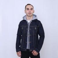 100% Original RAINDOZ Levis Trucker Jaket Jeans Pria Hoodie DRR0CC