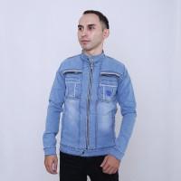 100% Original RAINDOZ Levis Trucker Jaket Jeans Pria Trucker DRR0CI