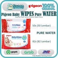 Pigeon Baby Wipes Pure Water [ 50s / 82s ] [SATUAN]