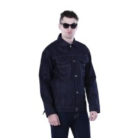 HBEDF Trucker Sweaters Jeans Pria Jaket Pria Jacket Jeans Denim HRNC