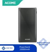 ACOME Powerbank 10000mAh Fast Charging 2 Input - AP101