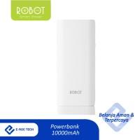 ROBOT Powerbank 10000mAh 2 USB FREE Kabel Data Micro USB/iPhone RT130