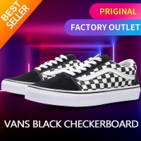 Vans Old Skool DX Black Checkerboard original sneakers