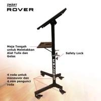 Meja Berdiri Roda Adjustable Standing Desk Kerja Belajar Miring