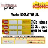 Voucher Paket Data INDOSAT 7 GB
