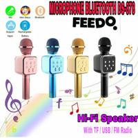 Microphone Smule Mic Karaoke Mikrofon Stereo Wireless Bluetooth DS878
