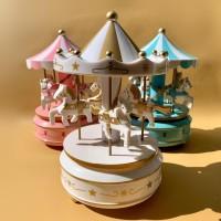 Kotak Musik / Music Box Carousel Kado / Gift Unik Ulang Tahun Anak