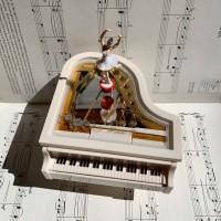Kotak Musik / Music Box Piano Ballerina Kado / Gift Unik Ulang Tahun