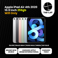 Apple iPad Air 4 2020 10.9 Inch 256GB Wifi Only Garansi Apple 1 Tahun - Space grey