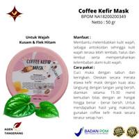 Coffee Kefir Mask SR12 - Masker Wajah Kusam - Flek Hitam