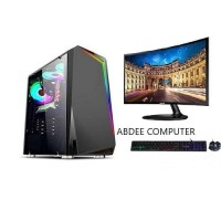 PC GAMING INTEL CORE I7 RAM 16 GB SSD 120 GB WITH LED 24 IN SAMSUNG