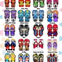 Sandal Lucu SANCU size 38, 40, 42 Beli 1 Pasang Gratis 1 Pasang Pretty